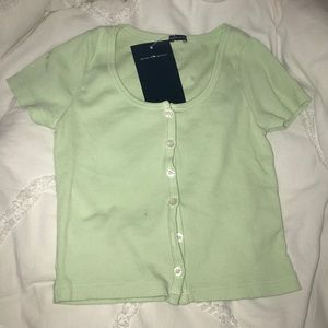 Light green Zelly top